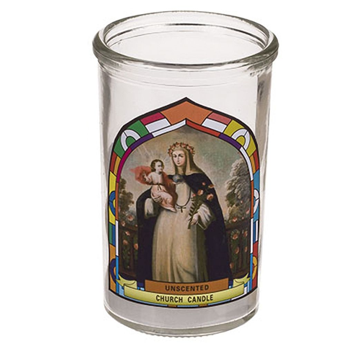 Bougie De Prières La Vierge Et L'enfant